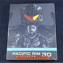 [3D藍光BD] - 環太平洋2:起義時刻 Pacific Rim : Uprising 3D + 2D 雙碟鐵盒版