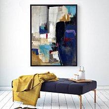 C - R - A - Z - Y - T - O - W - N 抽象藝術掛畫 北歐風抽象設計裝飾畫  飯店辦公室掛畫