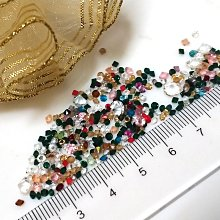 彩色透玻璃尖底鑽1-6mm(10克20元)水晶-補鑽-玻璃鑽-平底鑽-貼鑽-水鑽--指甲貼-手機-美甲12牛手創