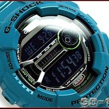 【美國鞋校】現貨 CASIO G-Shock GD-110-2CR 手錶 亮藍色 潮流錶 雙顯 GD-110-2 GD-110