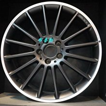 布魯斯原廠AMG 2014新款19吋霧黑限量BENZ W176 A45 C63 E63 W204 W207 W212專用BBS HRE WORK OZ BRABUS CARLSSON