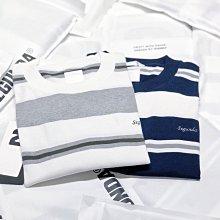 【希望商店】SEGUNDA STRIPE T-SHIRT 21SS 復古 日系 橫條紋 寬鬆 短袖T恤