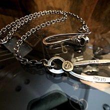 造夢師 手工訂製【Stop Light 高山隆】【復刻】4mm 太角鍊 925純銀 做舊 銀鉤 項鍊