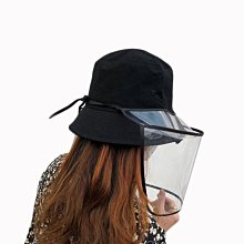 OT SHOP [現貨]帽套 防疫帽套 透明面罩 保護 隔離 避免口沫 可拆卸 適合多種帽型 大人/小孩款 C2137