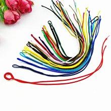 【螢螢傢飾】項練繩,10條/包,中國結繞線圈掛繩 手工編織拉圈開口線圈自製項鏈手鏈吊墜掛繩飾品配件