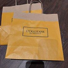 L'OCCITANE 歐舒丹 專櫃品牌紙袋 禮物袋 環保袋 經典黃色 全新品 尺寸25*25*11 CM 無破損刮痕 詳細狀況如照片 可合併運費