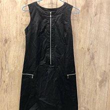 專櫃B2黑色背心洋裝F號