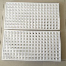 水耕專用保麗龍漂浮板 162孔,孔徑(28*28*45MM)尺寸34*65公分 2個一拍350元-目前庫存都有稍微損害