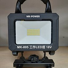 WIN五金 MK-POWER 單主機 20W 18V工作燈 探照燈 可直上牧田原廠電池 露營燈 登山燈 夜市照名單