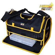 【I CHIBAN 工具袋專門家】一番 JK0701 鋼管收納袋  耐用防潑水 手提/肩背 工具袋 工作包 工具箱