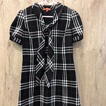 Knights bridge KB經典款黑色格紋洋裝/連身裙(M)降價