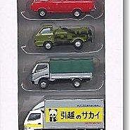 佳鈺精品-TOMYTEC--小卡車基本(4台入) 特價420元