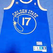 adidas NBA 金州 勇士 Chris Mullin 復古 洞洞 球衣 藍地圖 襪子