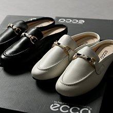 BEFE時尚精品 歐美單 真牛皮 豹紋馬銜扣  低跟半拖式 穆勒涼鞋