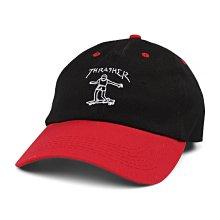 GOSPEL【Thrasher Gonz Old Timer Hat 】黑紅 滑板人 老帽 TSO1912800201