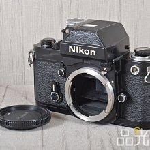 【品光攝影】Nikon F2A Body 單機身 經典機械式底片機 黑機 #99177