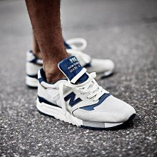 New Balance 998 新百倫 NB  M998CSEF 狼灰白 海軍藍 經典 反光 休閒 慢跑 情侶鞋