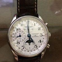 LONGINES 浪琴 巨擘月相 多功能機械錶 Master Collection