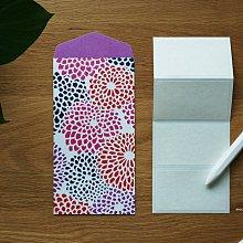 sou . sou 厚磅數 經典 花朵 數字 信封 信封袋 日本製