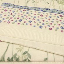 天使熊小鋪~日本帶回DAIICHI TOWEL雛花彩繪浴巾 毯 100純棉日本製全新現貨~