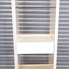 台中二手家具賣場 西屯樂居中古傢俱館 D0427CJC 鋼烤展示櫃 書架*櫥櫃 客廳桌椅 酒櫃 展示架 餐桌椅 新竹台北