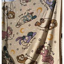 現貨 迪士尼 達菲熊 芭蕾兔 史黛拉 毛毯 蓋毯 法蘭絨 高克重 140x190cm 高質感