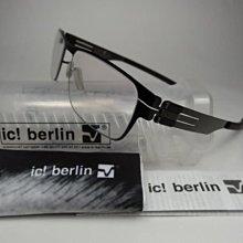 信義計劃 眼鏡 ic! berlin  Rast 德國製 金屬框 gun metal 舒伯 冬之旅 eyeglasses