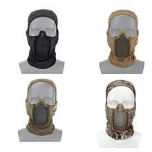 【WKT】暗影武者頭套 排汗/透氣 鐵網面具/面罩/頭罩 吸汗吸水 四色可選