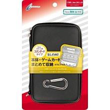 Cyber日本原裝 3DSLL主機用 輕量化 EVA 掛勾式硬殼包 防震包 主機包 黑色款【板橋魔力】