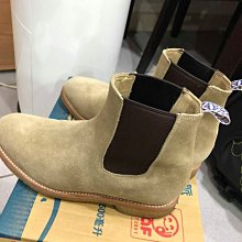UNMARKED Chelsea Boots 雀兒喜 靴 麂皮 沙色 US9