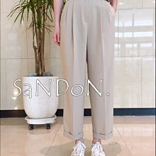 【2021山東四月號】韓國夏裝來了 好穿鬆緊西裝九分褲 YOOM SLY GUAPA 210411