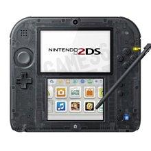 任天堂 Nintendo 2DS 主機 日版 日規機 日文主機 黑色(附原廠充電器+保護貼)【台中恐龍電玩】