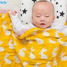 【四層紗布被】寶寶新生兒四層紗布包巾 浴巾 有機棉紗布巾 嬰兒包巾 空調被 muslintree幼稚園棉被睡袋