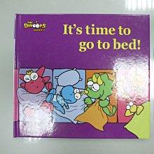 書皇8952:童書 A5-3bc☆2006年初版『Basic Book:Its time to go to bed!』