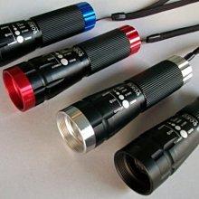 POKO正廠 最新產品多功能CREE Q5魚眼旋轉變焦手電筒可變成☆露營燈,及指揮棒☆四合一大全配