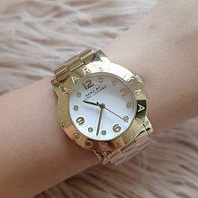 MARC BY MARC JACOBS MBM3056 金色鋼錶帶 女錶 時尚手錶