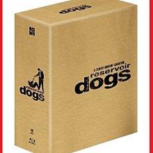 【BD藍光】霸道橫行:3合1鐵盒限量禮盒版Reservoir Dogs(台灣繁中字幕)追殺比爾黑色追緝令導演