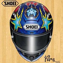 【帽牧屋】『預購』日本 SHOEI X-14 NORICK 04 TC-2 全罩式安全帽 X14 阿部典使 紅/藍