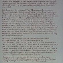【月界二手書店】A Short History of Sociological Thought_Alan 〖社會〗AFB
