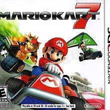 【二手遊戲】任天堂 Nintendo 3DS N3DS 瑪莉歐賽車7 Mario Kart 美版 英文版【台中恐龍電玩】