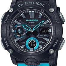 ??夢幻精品屋?? CASIO卡西歐 G-SHOCK 潮流時尚運動錶 GA-2000-1A2