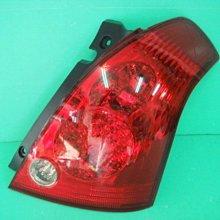 ☆小傑車燈家族☆全新高品質suzuki SWIFT原廠型紅白LED尾燈一顆只要1200元
