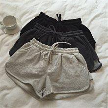 【UBY】居家運動褲!薄款毛圈純棉休閒短褲