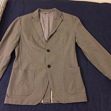 muji無印良品灰色西裝外套s號