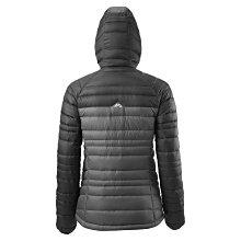 紐澳知名 戶外運動品牌 Kathmandu 加德滿都 ,  女性 羽絨 連帽 黑灰色外套 8 號  全新有吊牌