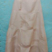 義大利製 歐美精品 GRAZIA 漂亮柔粉色精美蠶絲長裙100%真絲silk 46號非常的精緻優雅高貴的柔軟的蠶絲雙宮