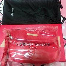 ARMANI RED亞曼尼 時尚編織手拿包