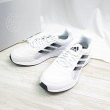ADIDAS 愛迪達DURAMO SL 男款 透氣 慢跑鞋 GV7125 白X黑【iSport愛運動】