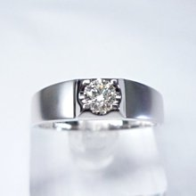 【連漢精品交流】SOPHIA 蘇菲亞 25分天然鑽石戒指 男鑽戒 0.25克拉 婚戒 8心8箭 生日送禮