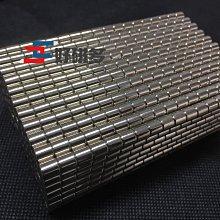 強力磁鐵 D6mmx6mm鍍鎳【好磁多】專業磁鐵銷售